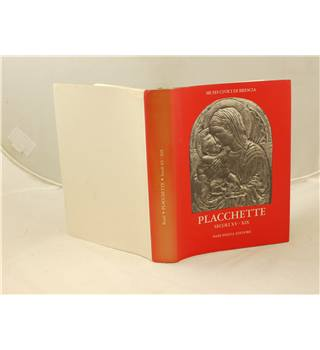Placchette Secoli XV - XIX published Neri Pozza Editore 1974 1st edition illustrated, text in Italian