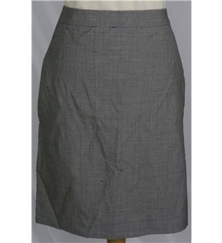 Paul Smith - Size 14 - Grey - Gingham Skirt