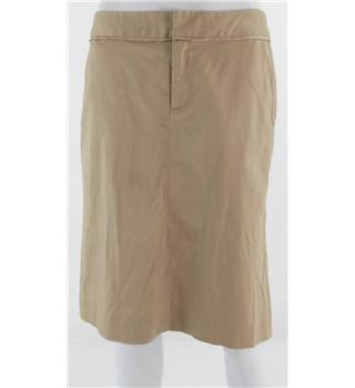 MARC BY MARC JACOBS Beige Knee-Length Skirt Size 8