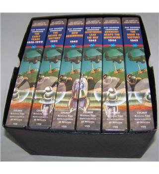 The Complete Video History of RAF Bomber Command - 6 VHS tapes E