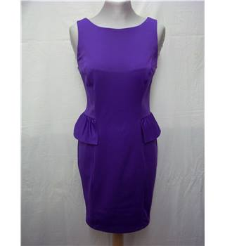 Red Herring - Size: 8 - Purple - Stretch fabric dress