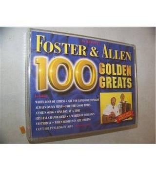 100 Golden Greats (1995) Foster & Allen STAC 2791 Double audio cassette