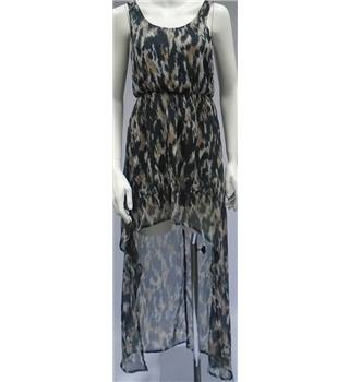 BNWT - Internacionale - Size 8 - Multicolour Printed - Asymmetrical Dress