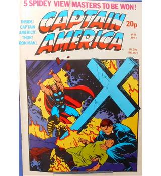 Captain America #59 - 7th April 1982
