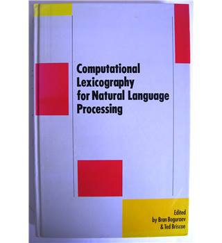 Computational Lexicography for Natural Language Processing