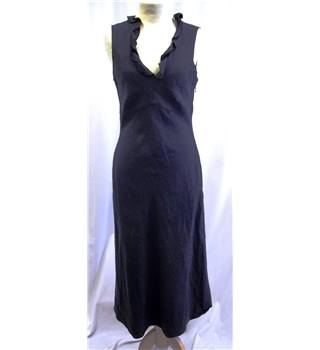 Fusion - Size: 6 - Dark Grey - Silk and Linen - Dress