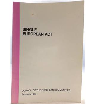 Single European Act and Final Act