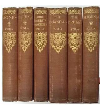 Émile Zola - 12 Volumes [Blackwood, Scott & Co., Circa 1910s)