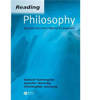 Reading philosophy