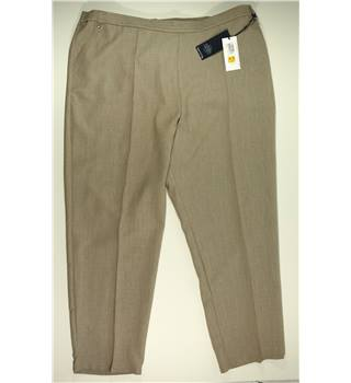 NWOT M&S Marks & Spencer - Size: 24 - Beige - Trousers