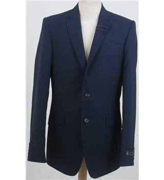 NWOT M&S Size S blue single breasted blazer