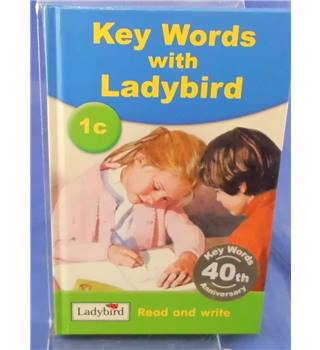 Key Words With Ladybird 1c- Ladybird Book Read and Write series