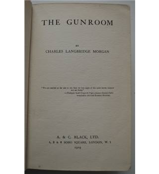 The Gunroom - Charles Morgan - 1st Edition