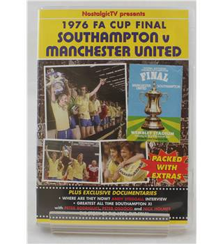 1976 FA Cup Final - Southampton v Manchester United