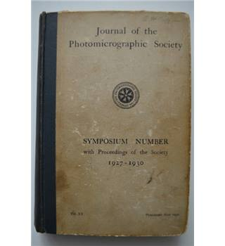 Journal of the Photomicrographic Society - 1927 - 1930