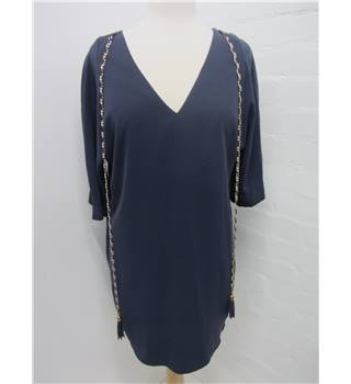 Dis Moi Paris Size: M Blue Short Dress