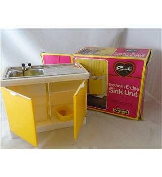 Vintage Sindy Kitchen Sink Unit Pedigree