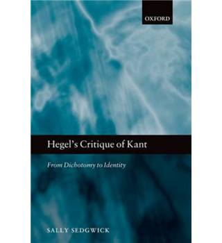 Hegel's critique of Kant
