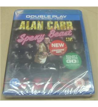 Alan Carr : Spexy Beast Live (Double Play) ** SEALED ** 15