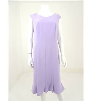 Betty Barclay Size M Lilac Midi Dress