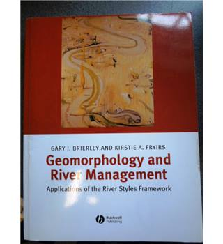 Geomorphology and River Management. Applications of the River Styles Framework