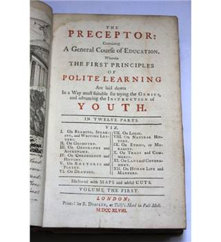 The Preceptor - First Volume - 1st Edition
