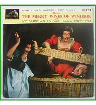 Otto Nicolai -  The Merry Wives of Windsor - Set of 2 - ALP 2031