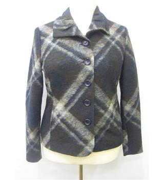 Oscar B Size 12 Dark Ladies' Jacket Oscar B - Size: 12 - Multi-coloured - Casual jacket / coat