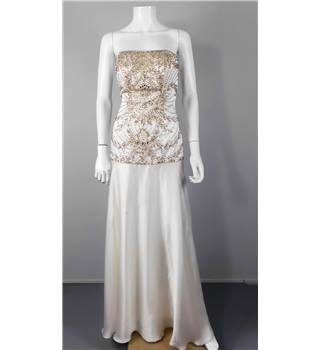BNWT Sue Wong Size 4 Ivory Embellished Wedding Gown