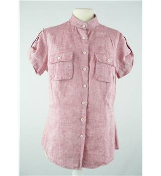 Tommy Hilfiger - Size: M - Pink - Short sleeved Shirt