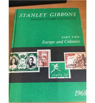 Stanley Gibbons Priced Postage Stamp Catalogue : Part Two - Europe and Colonies 58th Edition - 1968