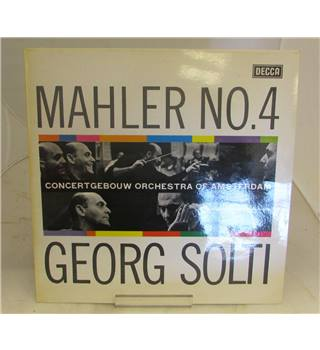 GEORG SOLTI - MAHLER No. 4 in G Major - SXL2276
