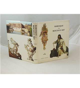 Baroque and Rococo Art by Liselotte Andersen publ 1969 hardback with good d/j  profusely illustrated