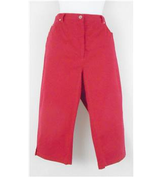 First Avenue - Size: 14 - Red - Trousers
