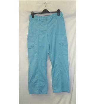 Savoir - Size: 12 regular - Blue - Trousers