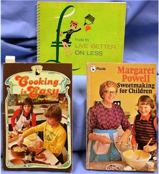 Vintage Cooking Selection, including cooking for children