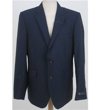 NWOT M&S Size: 42'' M Navy Blue Single breasted blazer