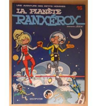 La Planete Ranxerox - [SIGNED in addition to personalised cartoon]