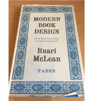 Modern Book Design : From William Morris to the Present Day