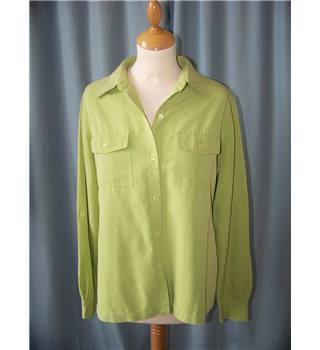 First Issue - a Liz Claiborne company - Size: M - Green - Blouse