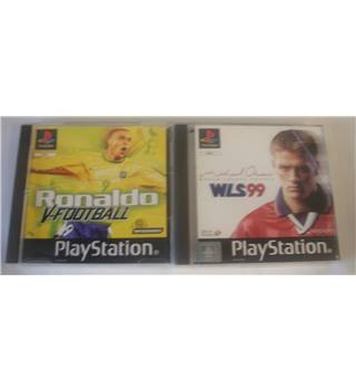 Sony PS1 : 2 Football Game Bundle