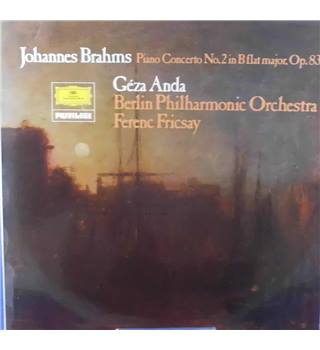 Brahms: – Piano Concerto No.2 in B Flat Major, Op. 83 Géza Anda - Stereo 2538 256