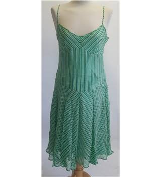 Warehouse SILK Summer Dress Size: 14