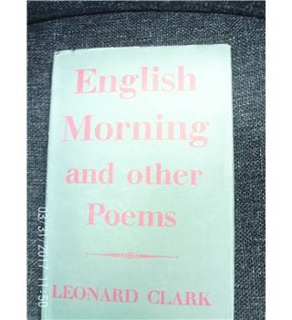 English Morning and Other Poems