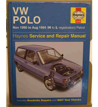 VW Polo Haynes Service and Repair Manual