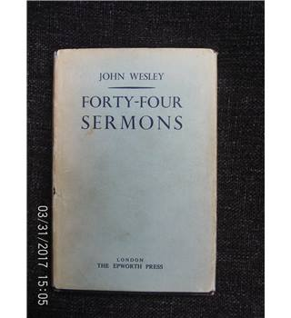 Forty-Four Sermons : Sermons on Several Occasions