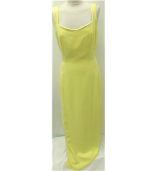 Ben De Lisi - Size: 12 - Yellow - Maxi dress