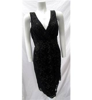 Jeff & Co Size L Black Lace Dress Jeff & Co - Size: L - Black