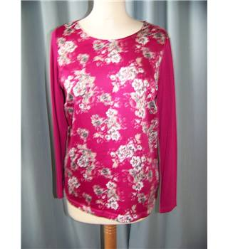 Classic by M&S Marks & Spencer - Size: 8 - Pink - Smock top