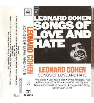 Songs of Love and Hate - Cassette Tape